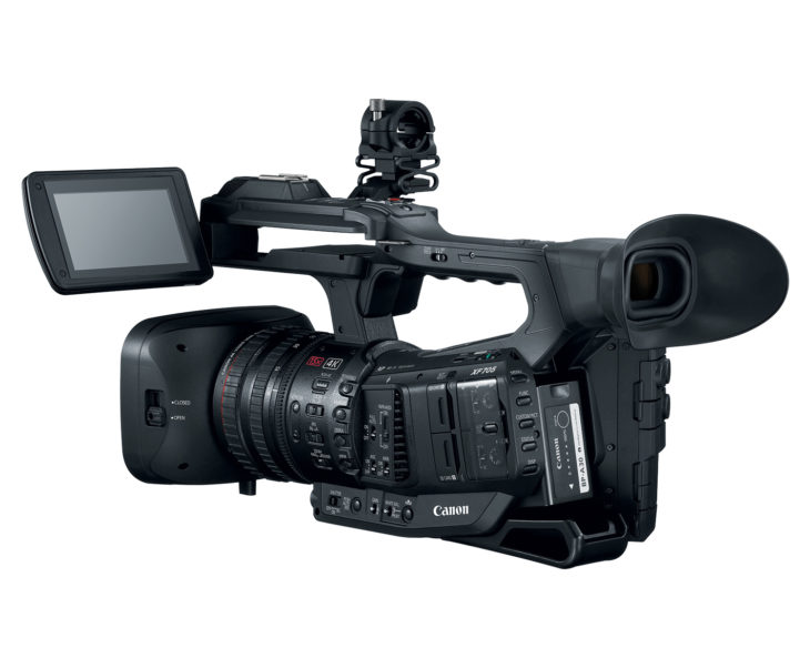 Canon Announces Canon XF705, New Flagship Professional Camcorder With 4K Video