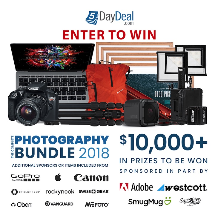 5DayDeal Event Is Coming Soon, In The Meantime You Can Enter A $10,000 Giveaway