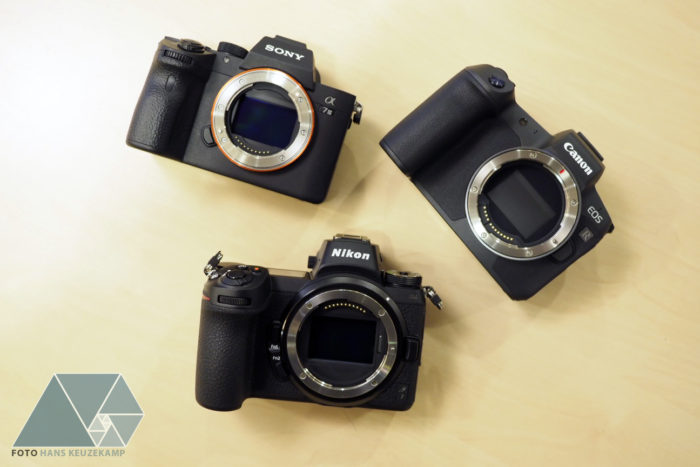 The Alpha Dogs In The Mirrorless Pack: Canon EOS R Vs Nikon Z6 Vs Sony A7 III Size Comparison