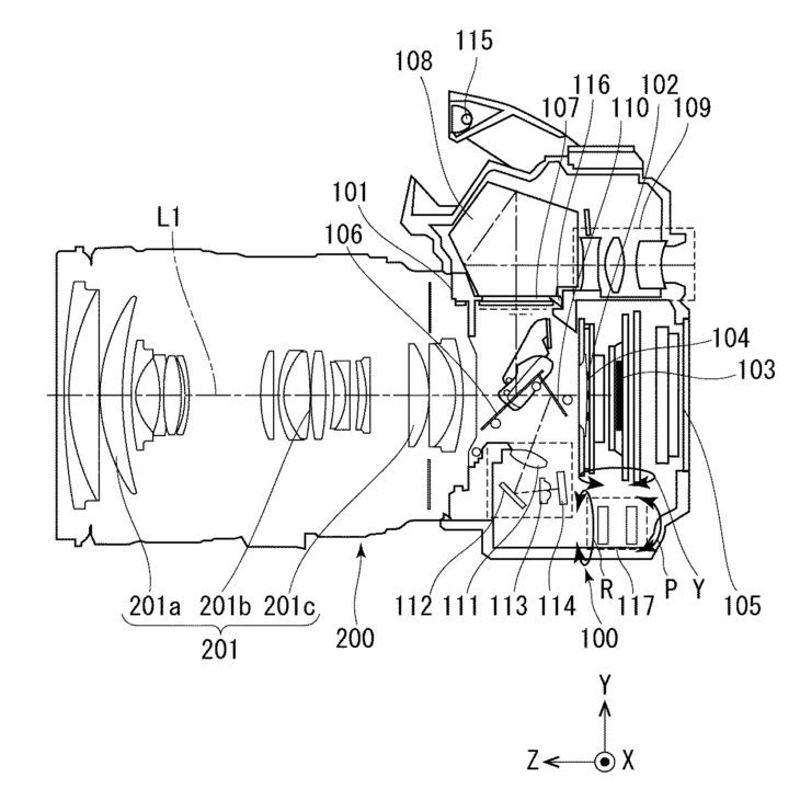 Here Is A Canon Patent For In Body Image Stabilisation (IBIS)