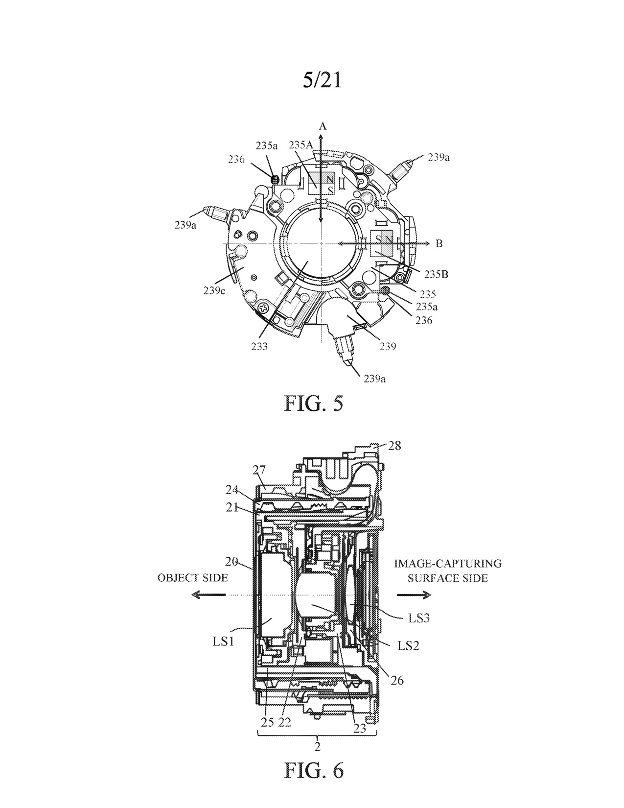 canon patent application for 360 degree camera with 8 zoom