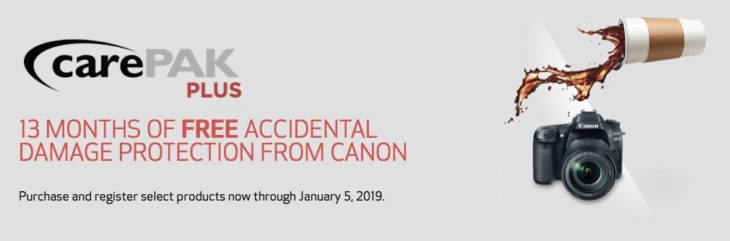 Canon CarePAK Is Back, Includes The EOS R, Recent DSLRs, And 13 Lenses (and It's Free)