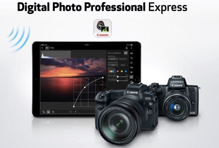 You Can Now Use Canon Digital Photo Professional Express On Your IPad