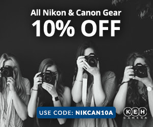 Save 10% On Canon And Nikon Gear At KEH (limited Time)