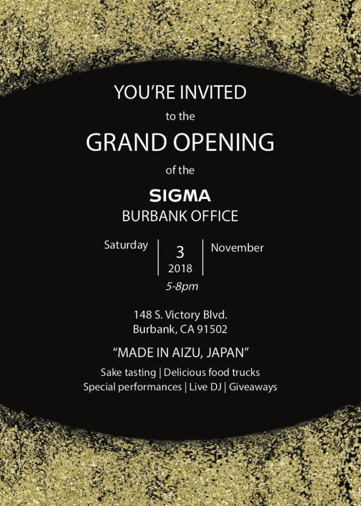 Sigma Celebrates New Facility Opening In Burbank, California