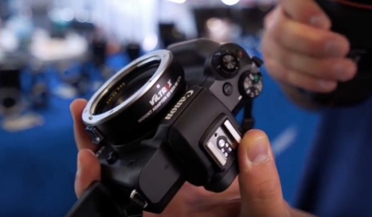 It's Finally Coming: Viltrox 0.71x Speed Booster For The Canon EOS M System