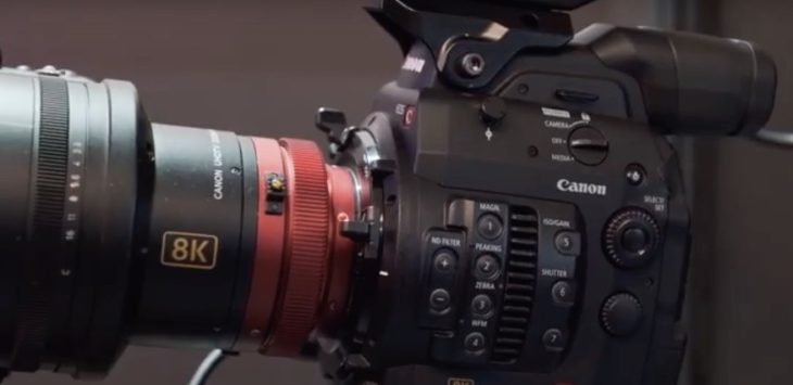 Canon's Future 8K Video Camera Concept Explained