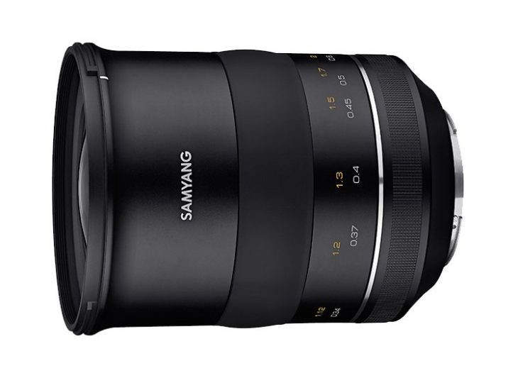 Samyang Set To Announce XP 35mm F/1.2 Lens Soon