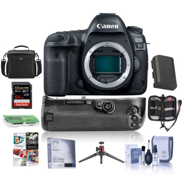 Early Black Friday Deal: Canon EOS 5D Mark IV With Bonus Items At $2799 (battery Grip, Memory, More)