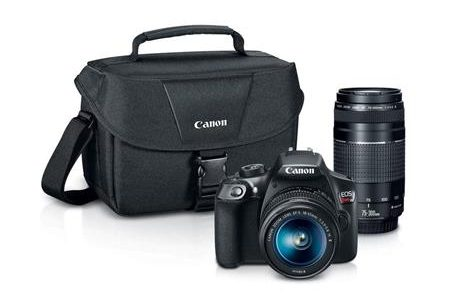 Black Friday Canon Rebel T6 With Two Lenses, PIXMA Pro-100 Printer, Bag – $299 (reg. $649)