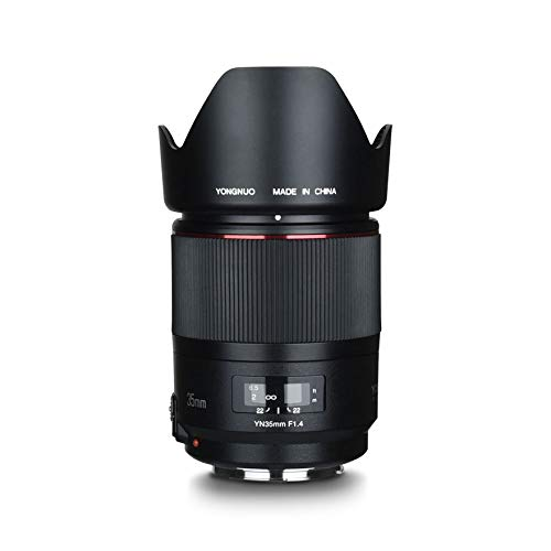 Yongnuo YN 35mm F/1.4 Lens (Canon Mount) In Stock And Ready To Ship At Amazon US