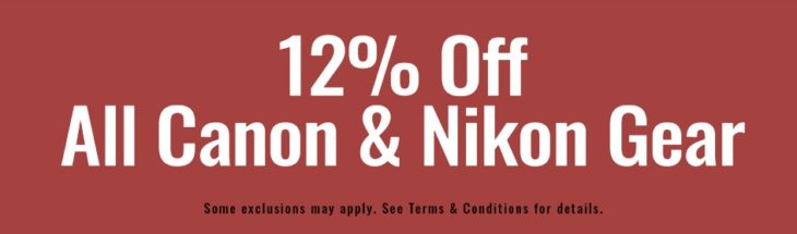 Get 12% Off All Canon And Nikon Gear At KEH (2 Days Special)