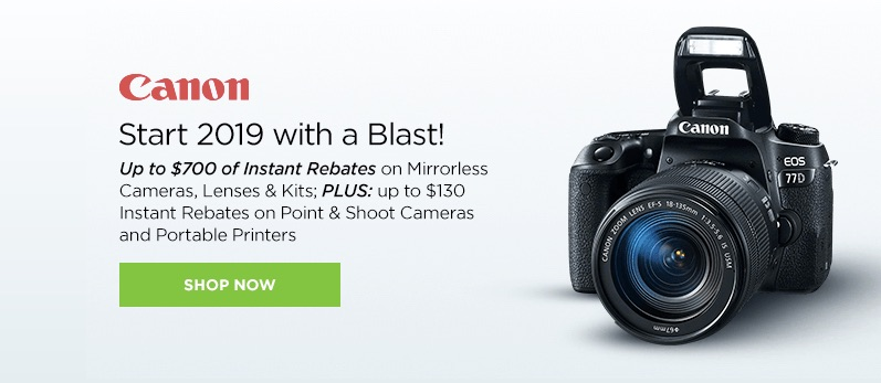 Canon EOS 5D Mark IV deal – $3,199 (reg- $3,499)