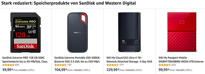 EU Deals: Save On Sandisk Memory At Amazon DE And FR