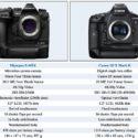 Olympus E-M1X Vs Canon 1D-X Mark II Size And Specification Comparison