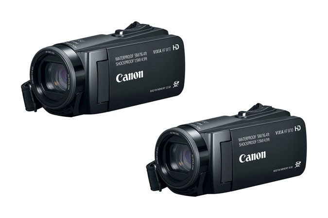 Canon Announces New Waterproof And Shockproof VIXIA Camcorders