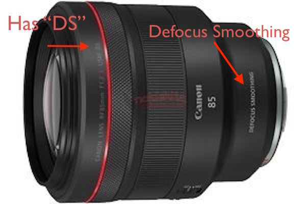 "Canon To Announce Two Different RF 85mm F/1.2L Lenses For EOS R Systems, One Having ""Defocus Smoothing""?"