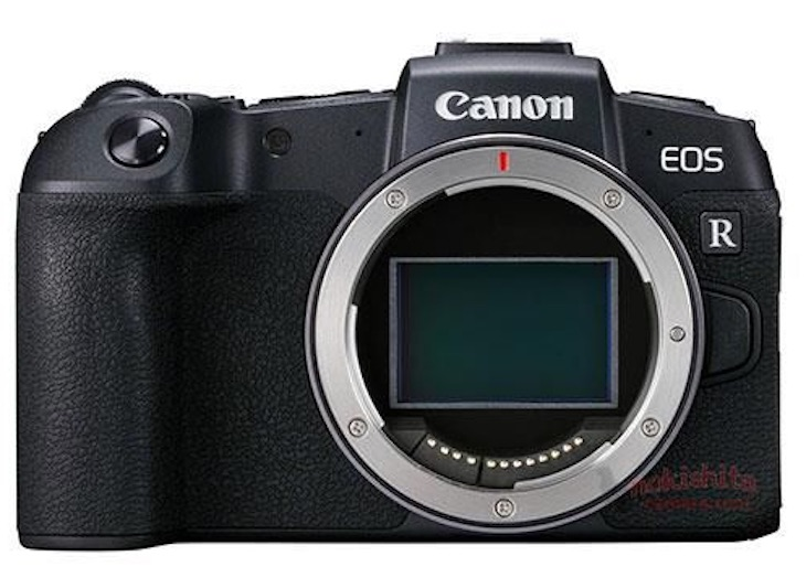 This Is The Canon EOS RP, Images And Specifications