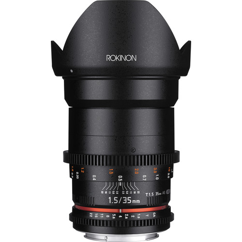 Deal: Rokinon 35mm T1.5 Cine DS – $399 (reg. $599, Today Only)