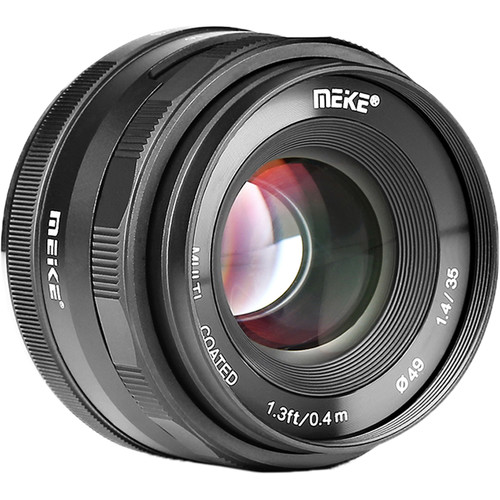 Meike 35mm F/1.4 Manual Lens For APS-C Mirrorless Shipping Now