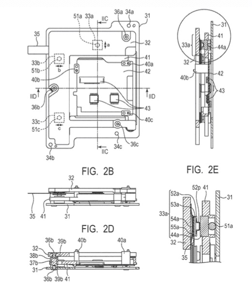 Here Is Another Canon Patent For IBIS (In Body Image Stabilisation)