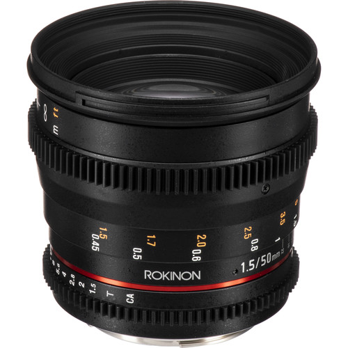 Deal: Rokinon 50mm T1.5 AS UMC Cine DS Lens – $369 (reg. $549, Today Only)