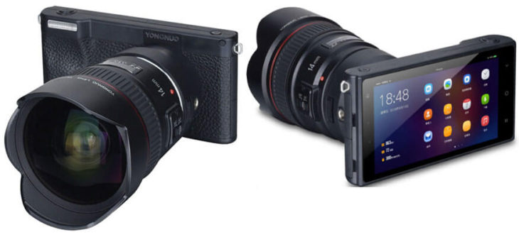The Yongnuo YN450 Is A Mirrorless Android Camera With 4/3 Sensor And Canon EF Mount