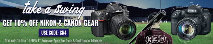 Save 10% On Used Canon And Nikon Gear At KEH