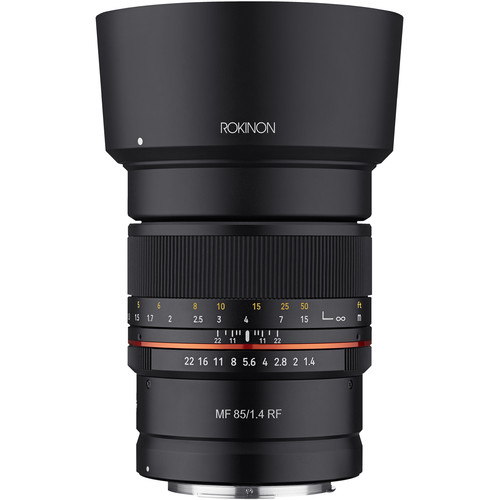 Rokinon 14mm F/2.8 And 85mm F/1.4 Lenses For Canon EOS R Now In Stock & Ready To Ship