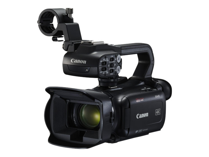 Canon Announces Four New Professional Camcorders With 4K/30p Video