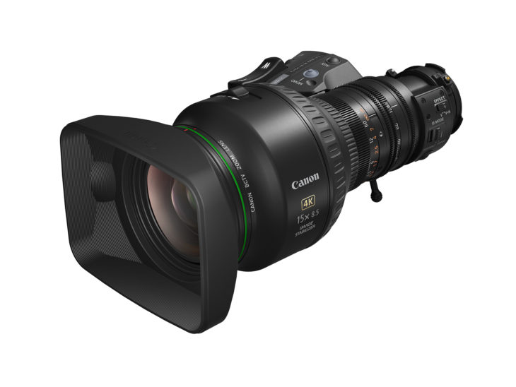 Canon Introduces Two New UHDgc 2/3-Inch Portable Zoom Lenses For 4K UHD Broadcast