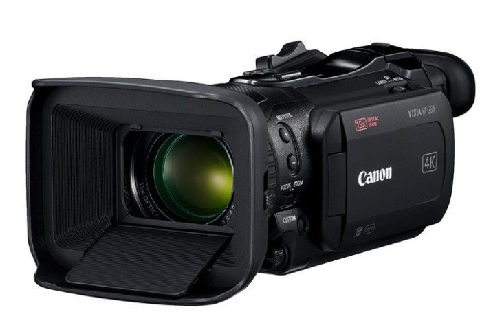 Canon Vixia HF G60 Images Leak Ahead Of Announcement
