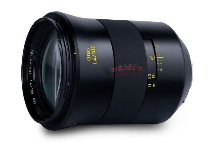This Is The Zeiss Otus 100mm F/1.4 (leaked Specs And Image)