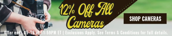 Save Up To 12% On Used Cameras At KEH