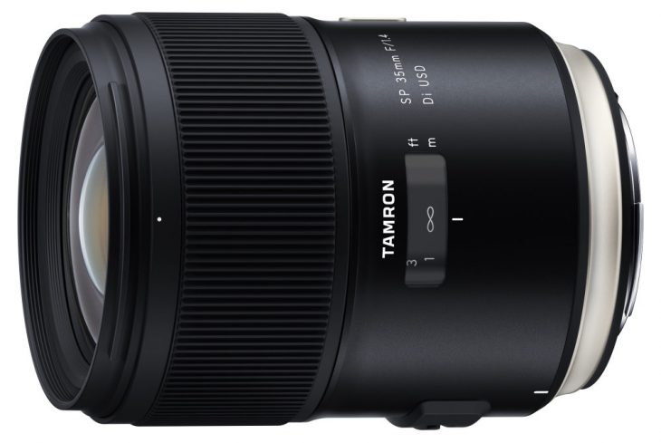 Tamron SP 35mm F/1.4 Di USD Lens Announced (finest Lens In Company's History)