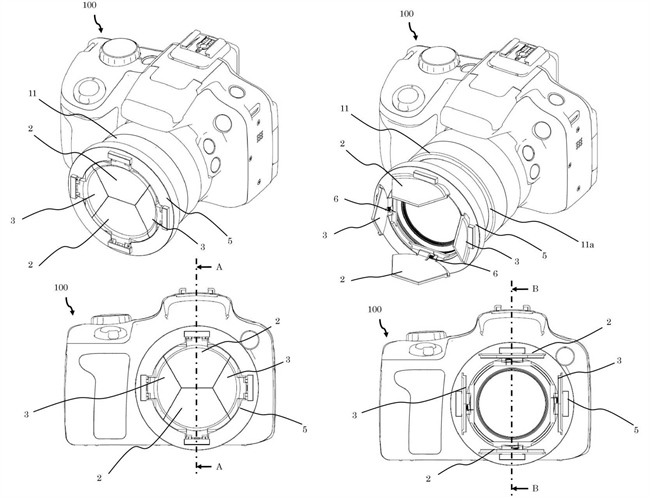 Canon Patent For A Lens Cap That Might Be Pretty Difficult To Lose