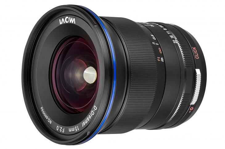 Laowa 15mm F/2 Zero-D For Canon EOS R Announced