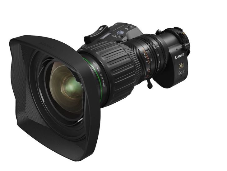 Canon Announced New Class-Leading 4K Broadcast Zoom Lens, The CJ15ex4.3B