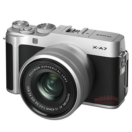 Camera News: Fujifilm X-A7 Images And Specifications Leak Ahead Of Announcement