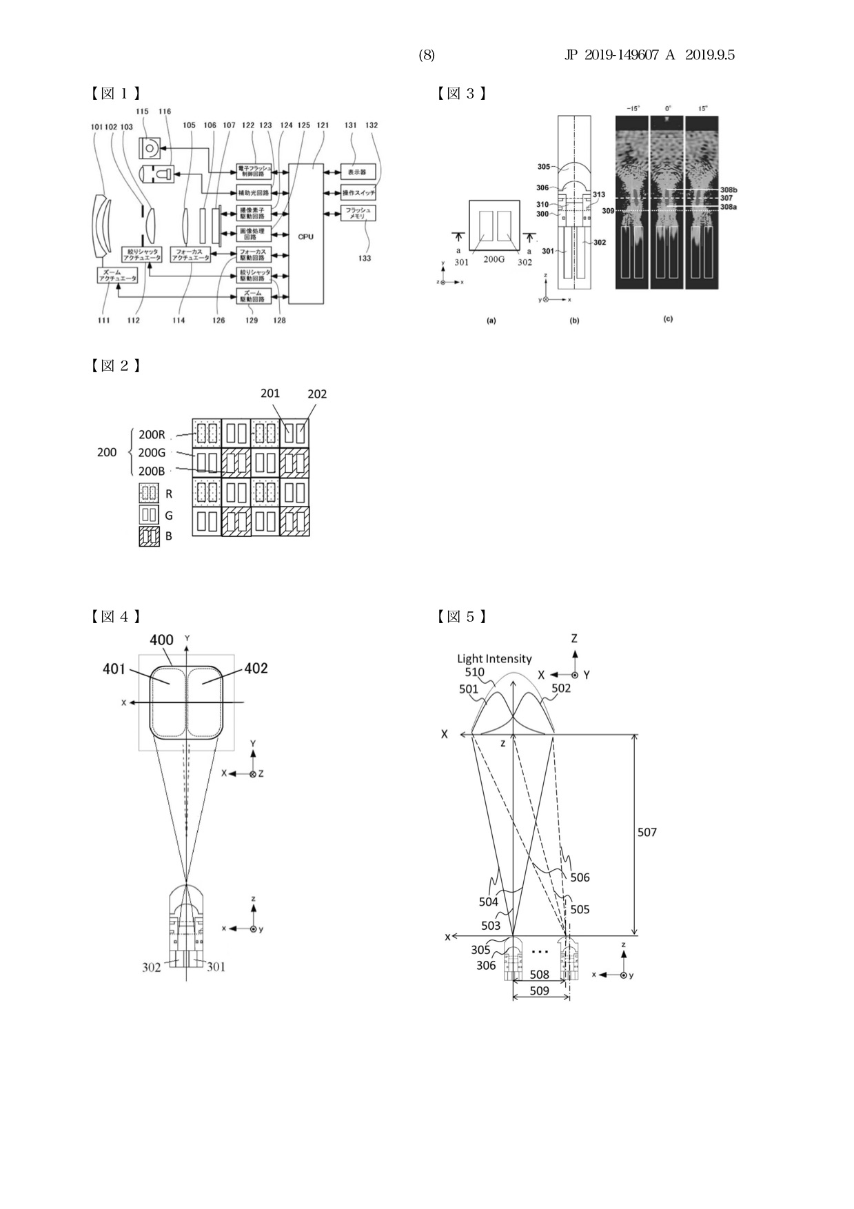 Canon Patent Application