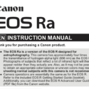 Canon EOS Ra Brochure Leaks Online, FF MILC For Astrophotography Coming