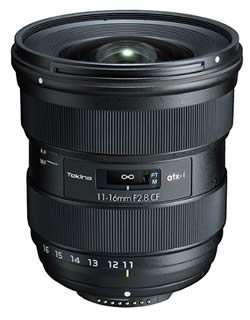 This Is The Tokina ATX-i 11-16mm F/2.8 CF Lens For APS-C DSLRs