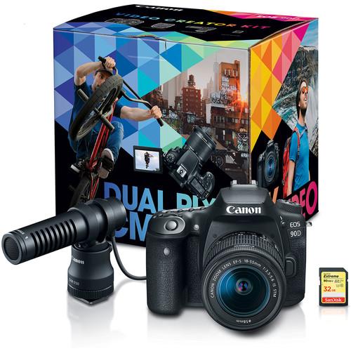 Canon Announce EOS 90D, EOS M200 And PowerShot G7 X Mark III Video Creator Kits