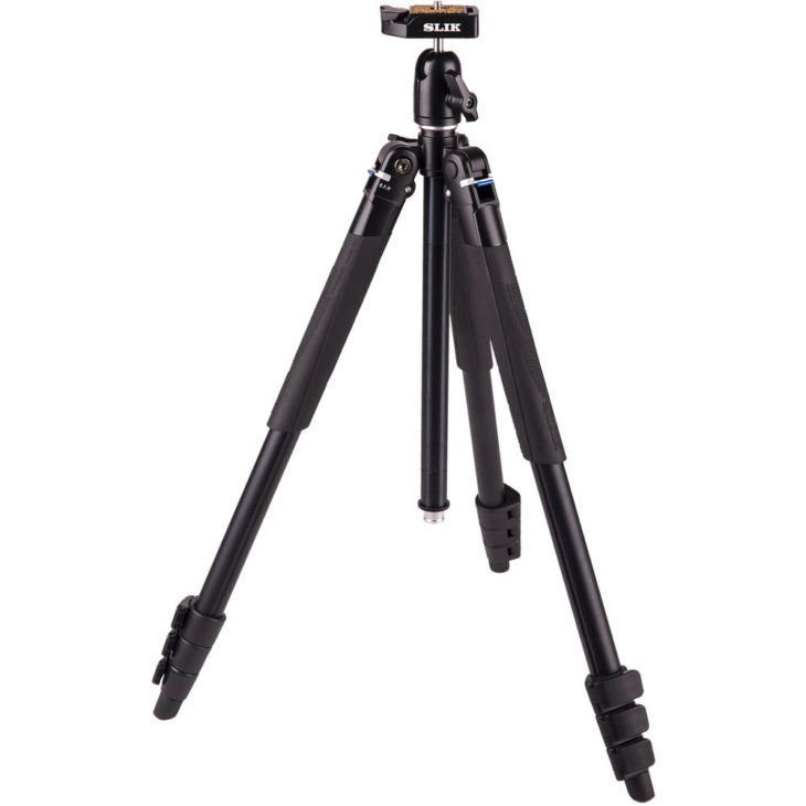 Travel Tripod Deal: Slik Lite AL-420 With LED Center Column Flashlight – $49.95 (reg. $139.95, Today Only)
