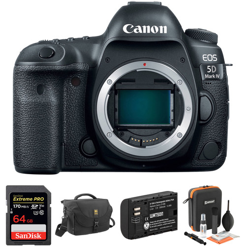 Canon EOS 5D Mark IV Deal – $2499 (battery, Memory, Bag, Accessories – Expires Soon)