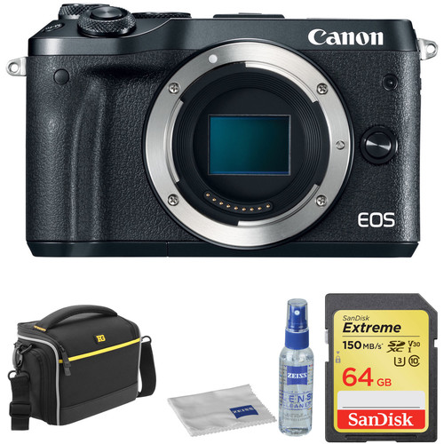 Black Friday Canon Deal: Canon EOS M6 Kit With Accessories – $399