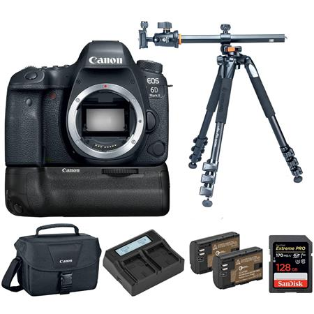 Canon EOS 6D Mark II Deal: Superpacked Bundle At $1199