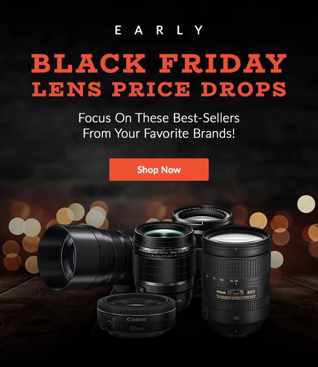 Early Black Friday Lens Price Drops At Adorama (full Frame, APS-C, MILC, DSLR)