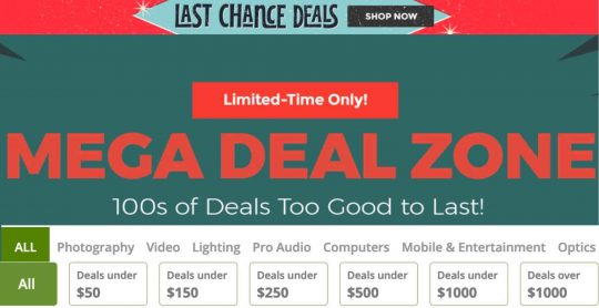 Mega Deal Zone