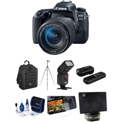 Canon EOS 77D Deal, On Sale At $799 (and Spyder5Elite, Sigma 135mm F/1.8, Memory Cards)